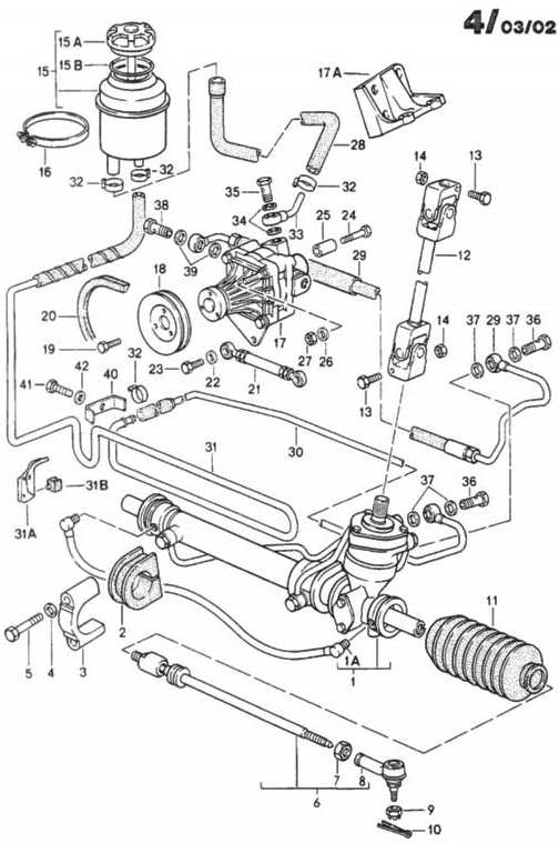 the porsche 944 steering rack